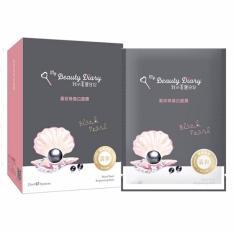 Hộp 8 Mặt Nạ Dưỡng Ẩm Cho Da Chiết Xuất Ngọc Trai Đen My Beauty Diary Black Pearl 23Ml X 8 My Beauty Diary Chiết Khấu