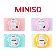 Hình ảnh Hộp Bông Tẩy Trang Miniso Loại 1000 Miếng - Màu Ngẫu Nhiên