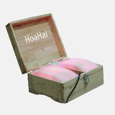 Hộp đá thạch anh tự nhiên cao cấp HoaHai chữa bệnh phong thấp - Mẫu HH02 nhập khẩu