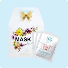 Hộp Qua 10 Mặt Nạ Avif Biocell Whitening Face Mask Dưỡng Trắng Da 10Goi 23G Long An Chiết Khấu 50