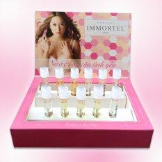 Hộp trưng bày 11 chai nước hoa Immortel Paris Eau De Parfum loại 5 Sens, No8, No3, No89 6ml