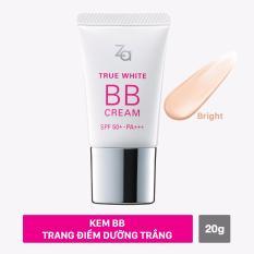 Bán Mua Kem Bb Sang Mịn Va Che Khuyết Điểm Tự Nhien Za True White Bb Cream Bright 20G Mới Hồ Chí Minh