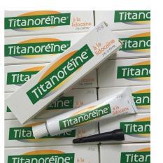 Giá Bán Kem Boi Trị Trĩ Ngoại Titanoreine Của Phap 20G Tốt Nhất
