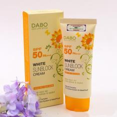 Kem chống nắng cao cấp trắng da DaBo White SunBlock Cream SPF 50 PA+++ 70ml - Hàn Quốc (Hàng chính hãng)
