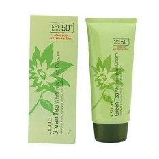 Kem chống nắng Cellio Green Tea Whitening Sun Cream SPF50 PA+++ 70g