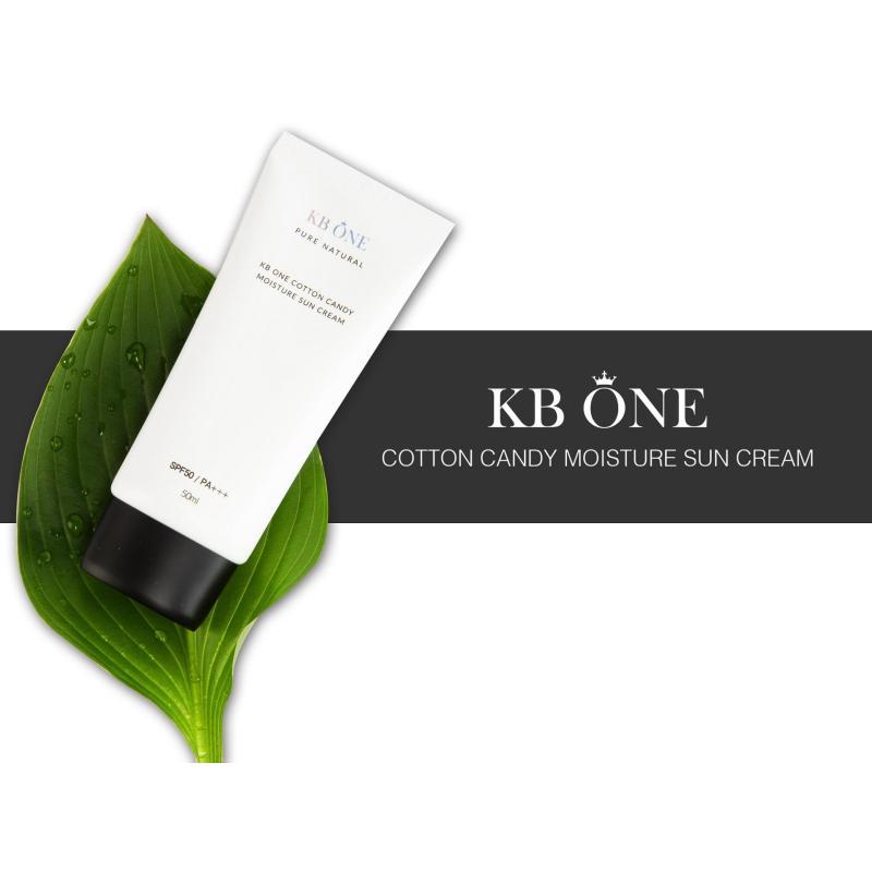 Kem Chống Nắng KB.ONE Hàn Quốc 50ml- Tặng kèm tắm trắng cafe Luxe Skin trị giá 99.000