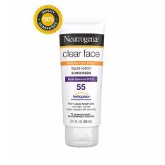 Giá Bán Kem Chống Nắng Neutrogena Clear Face Broad Spectrum Spf 55 88Ml Có Thương Hiệu