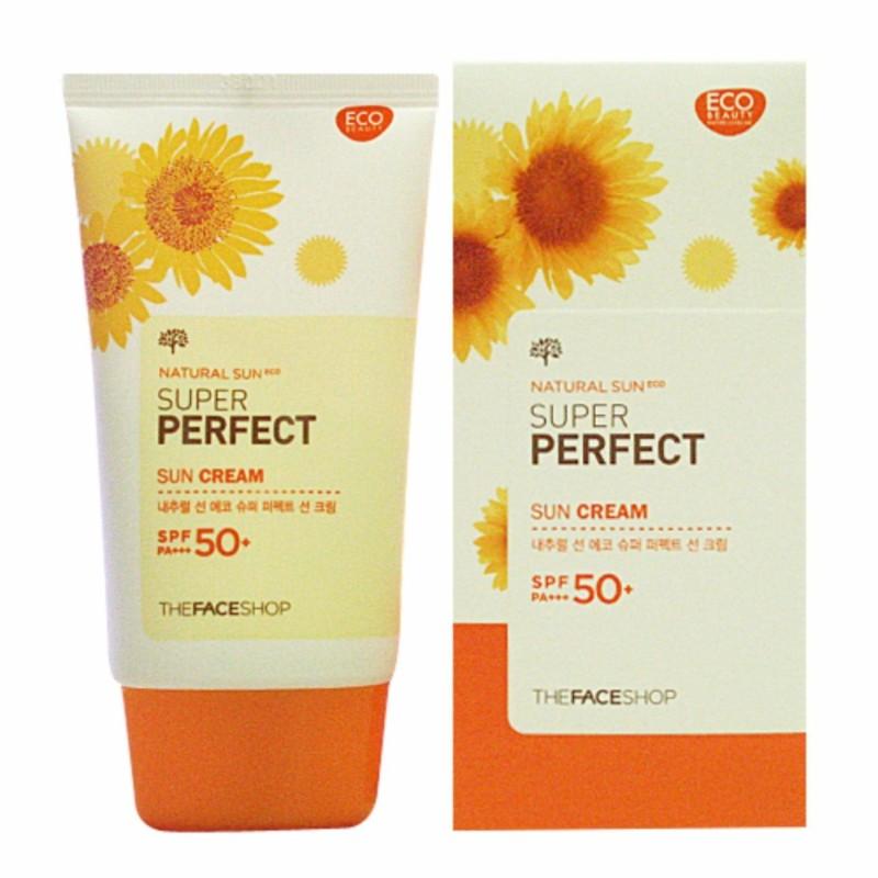 Kem Chống Nắng Super Perfect Sun Cream SPF50+ Hàn Quốc 50ml