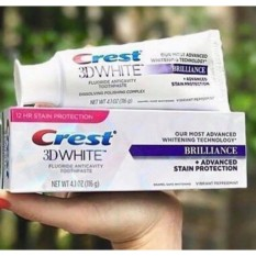Hình ảnh Kem đánh răng trắng răng Crest 3D Brilliance USA nhập khẩu Mỹ (116g)