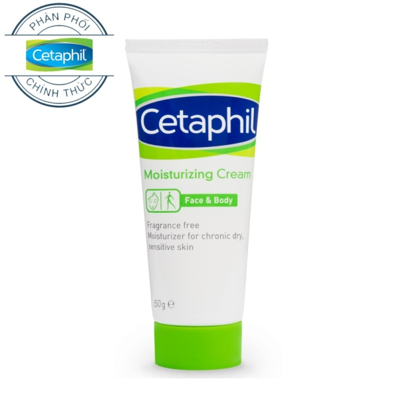 Kem dưỡng ẩm CETAPHIL MOISTURIZING CREAM 50g cao cấp
