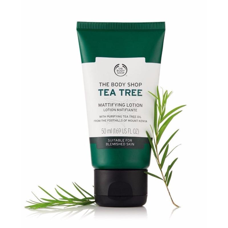 Kem dưỡng ẩm THE BODY SHOP Tea Tree Skin Mattyfying Lotion 50ml