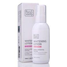 Kem Dưỡng Ẩm và Trắng Da Rucy's Vanity Whitening Lotion Vitamin E Collagen 100ml
