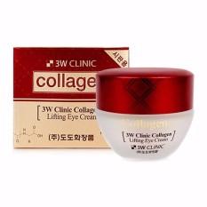 Kem dưỡng chống lão hóa bổ sung collagen vùng da mắt 3W Clinic Collagen Lifting Eye Cream 35ml