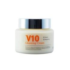 Hình ảnh Kem dưỡng da cao cấp V10 Gleaming Cream Skinaz Hàn Quốc