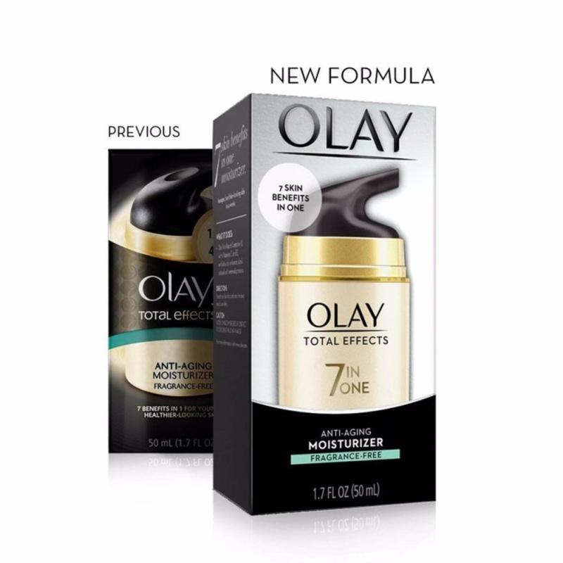 Kem dưỡng da chống lại 7 dấu hiệu lão hóa Olay Total Effects 7 in One Anti-Aging Moisturizer Fragrance-Free 50ml - Dạng Không Mùi cao cấp