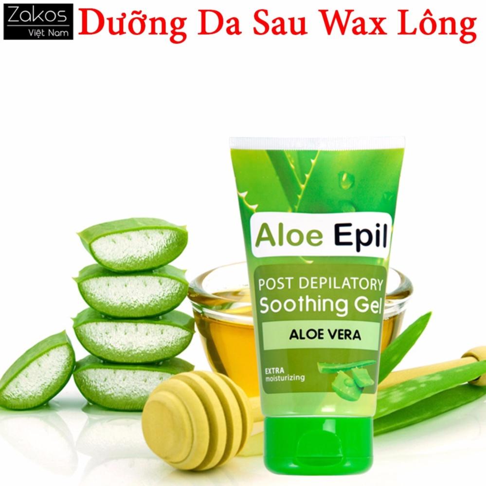 Kem dưỡng da sau tẩy lông giúp da mịn màng và dịu nhẹ chiết xuất từ nha đam Aloe Epil tốt nhất