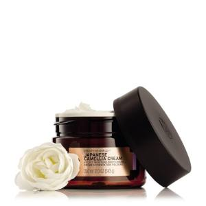 Hình ảnh Kem dưỡng da toàn thân THE BODY SHOP Spa of the World™ Japanese Camellia Body Cream 343g