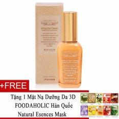 Bán Kem Dưỡng Da Vung Mắt Beauskin Placenta Gold Lifting Eye Cream 50Ml Tặng 1 Mặt Nạ Dưỡng Da 3D Foodaholic Han Quốc Natural Esences Mask Trong Vietnam