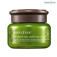 Ôn Tập Kem Dưỡng Mắt Từ Nước Va Hạt Tra Xanh Đảo Jeju Innisfree The Green Tea Seed Eye Cream 30Ml Vietnam