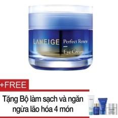 Kem Dưỡng Ngăn Ngừa Lao Hoa Vung Mắt Laneige Perfect Renew Eye Cream 20Ml Tặng Bộ Lam Sạch Va Ngăn Ngừa Lao Hoa Laneige 4 Mon Trong Vietnam