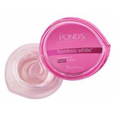 Mã Khuyến Mại Kem Dưỡng Trắng Da Cao Cấp Ban Đem Pond S Flawless White Brightening Night Cream 50G Rẻ