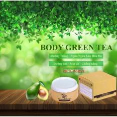 Ôn Tập Kem Dưỡng Trắng Da Ban Đem Sica Whitening Body Green Tea