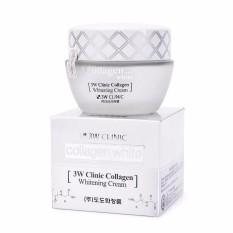 Hình ảnh Kem Dưỡng Trắng Da Tinh Chất Collagen 3W Clinic Collagen Whitening Cream (60ml)