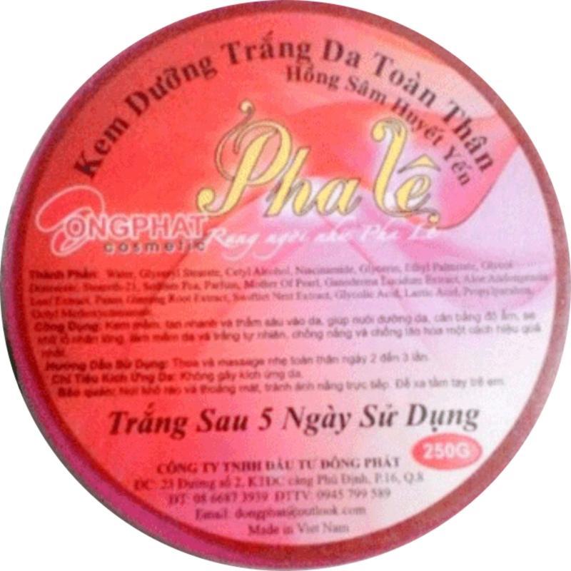Kem Dưỡng Trắng Da Toàn Thân Pha Lê - 250g - PL027T45 nhập khẩu