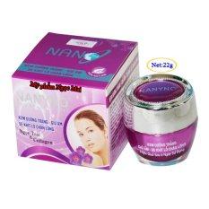Kem dưỡng trắng Giữ ẩm Se khít lỗ chân lông Ngọc Trai và Collagen NANYNO (22g) nhập khẩu