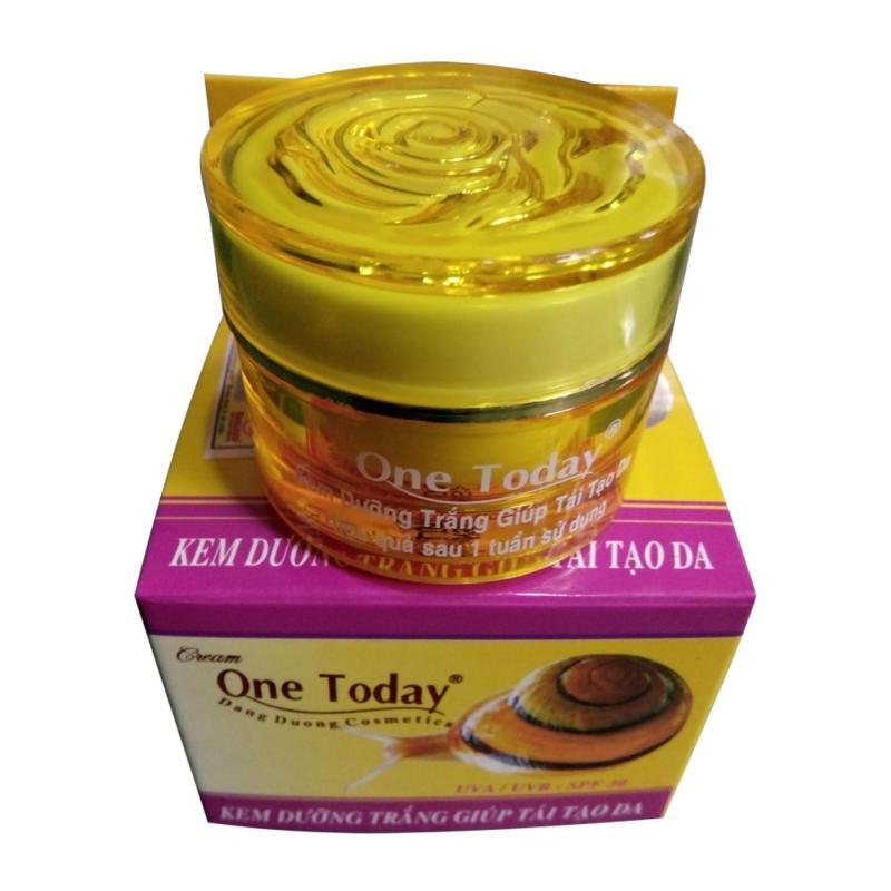 Kem Dưỡng Trắng Giúp Tái Tạo Da Ốc Sên One Today 10g nhập khẩu