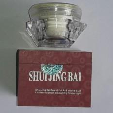 Kem Dưỡng Trắng – Trị Nám SHUI JING BAI 20G (Ngày & Đêm) Khử Nốt Trắng dẹp Thủy Tinh Bạch nhập khẩu
