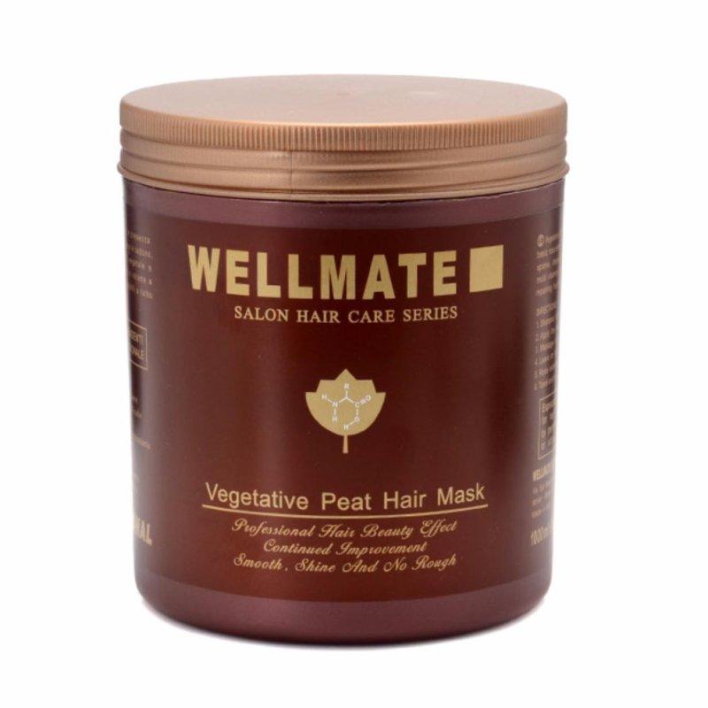 Kem hấp tóc cao cấp Wellmate Salon Hair Care Series dành cho tóc hư tổn 500ml