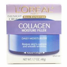 Kem LOreal dưỡng và tái tạo da bị lão hóa bổ sung collagen dùng ngày và đêm Day / Night Cream Collagen Filler 48