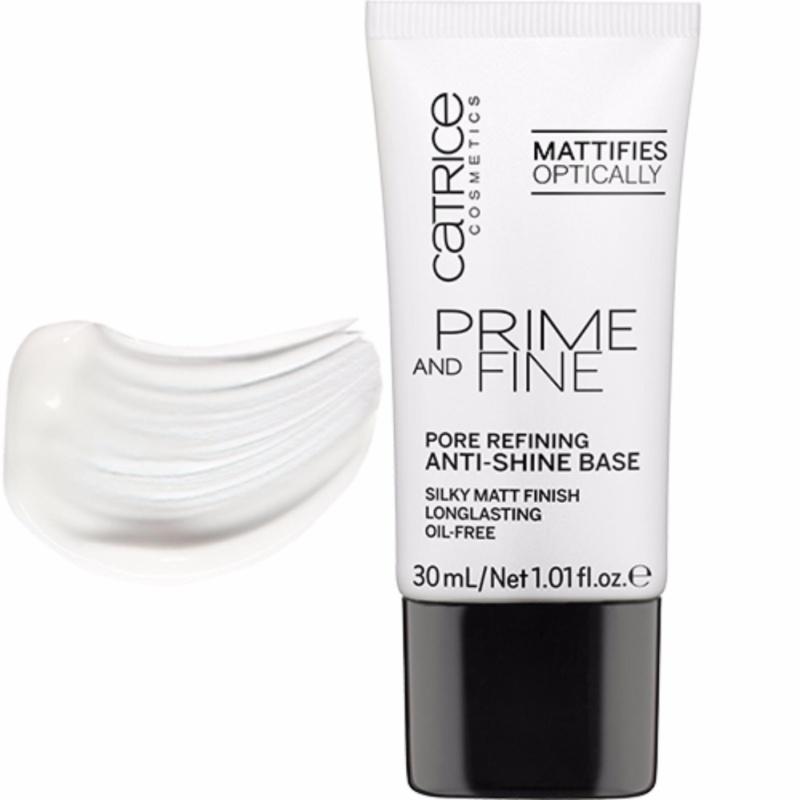 Kem Lót Kềm Dầu, Se Khít Lỗ Chân Lông Catrice Prime And Fine Pore Refining Anti-Shine Base 30ml cao cấp