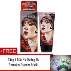 Hình ảnh Kem nền Beauskin Snail Silky Pore BB Cream SPF45/PA+++ 50ml #21 Nude Beige + Tặng 1 Mặt nạ dưỡng da Beauskin Essence Mask (Hàng Chính Hãng)