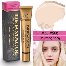 Bán Mua Kem Nền Dermacol Make Up Cover 30G Mau 208 Tong Da Trắng Sang Hồ Chí Minh
