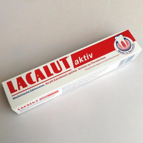 Kem ngăn ngừa chảy máu và viêm nướu răng LACALUT AKTIV giá rẻ