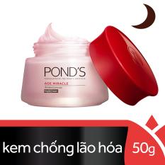 Bán Kem Ngăn Ngừa Lao Hoa Pond S Age Miracle Ban Đem 50G Pond S Rẻ