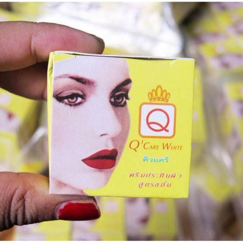 Kem Nghệ Q Care White Trị Mụn Thái Lan nhập khẩu
