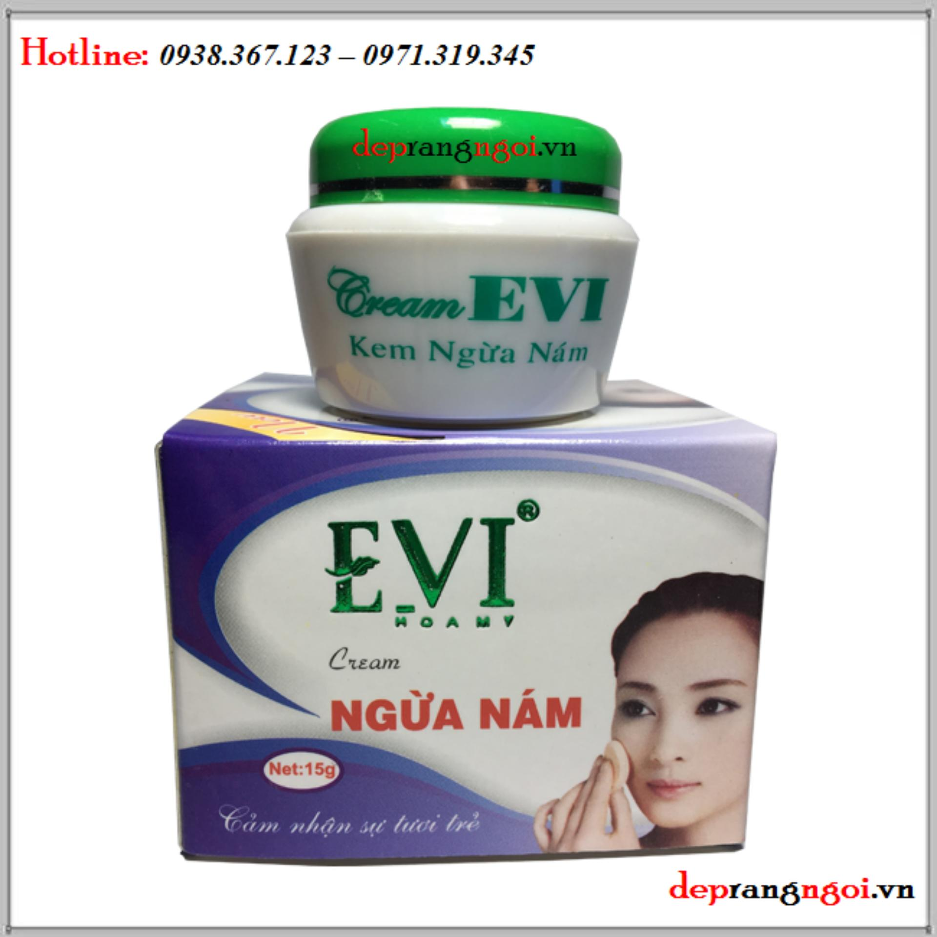 Kem Ngừa Nám Evi 15G