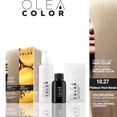 Hình ảnh Kem nhuộm dưỡng tóc không Amoniac Olea Color ITALY màu 1027 PlatinumPearlBlonde