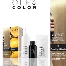 Hình ảnh Thuốc nhuộm tóc không Amoniac OleaColor ITALY màu 9 Extra Light Blonde