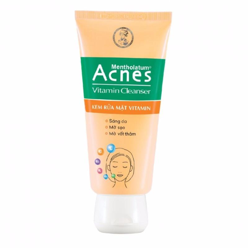 Kem rửa mặt Vitamin Acnes 100gram nhập khẩu