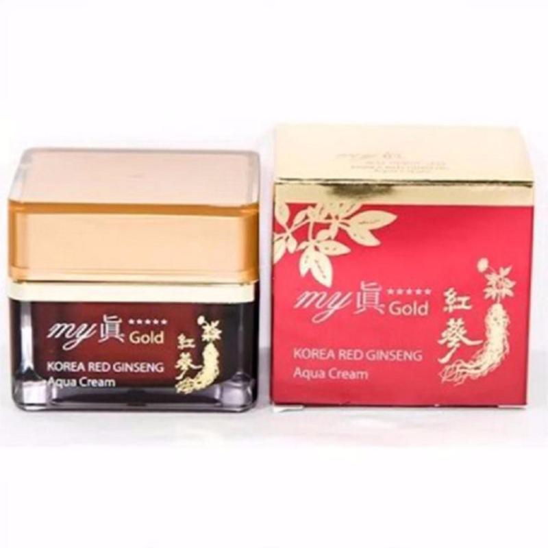 Kem Sâm Làm Trắng Và Trị Nám My Gold Korea Red Gingseng Aqua Cream