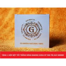 Bán Kem Tan Mỡ Glamida 200G Tặng 1 Hộp Tẩy Trắng Răng Baking Soda Nt 50G Trị Gia 50000Đ Glamida Rẻ