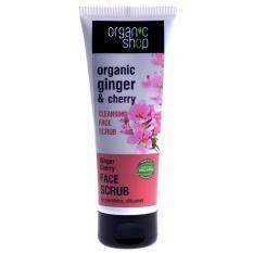 Kem tẩy da chết chiết xuất hoa anh đào Organic Shop 75ml tốt nhất