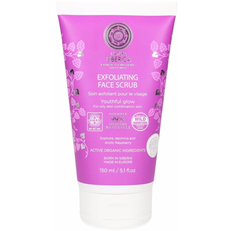 Kem tẩy da mặt Natura Siberica Exfoliating Face Scrub 150 ml (Làm sạch sâu cho da nhờn và da hỗn hợp)