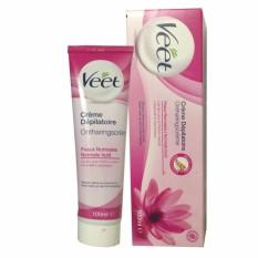 Hình ảnh Kem Tẩy Lông Cho Da thường Pháp Hair Removal Cream Nomal skin (Hồng) 100ml