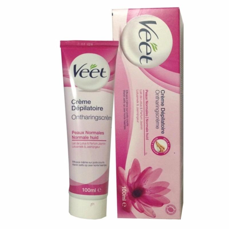 Kem Tẩy Lông Cho Da thường Pháp Hair Removal Cream Nomal skin (Hồng) 100ml tốt nhất
