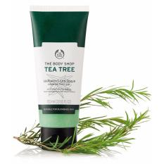 Giá Bán Kem Tẩy Tế Bao Chết Da Mặt The Body Shop Tea Tree Squeaky Clean Scrub 100Ml The Body Shop